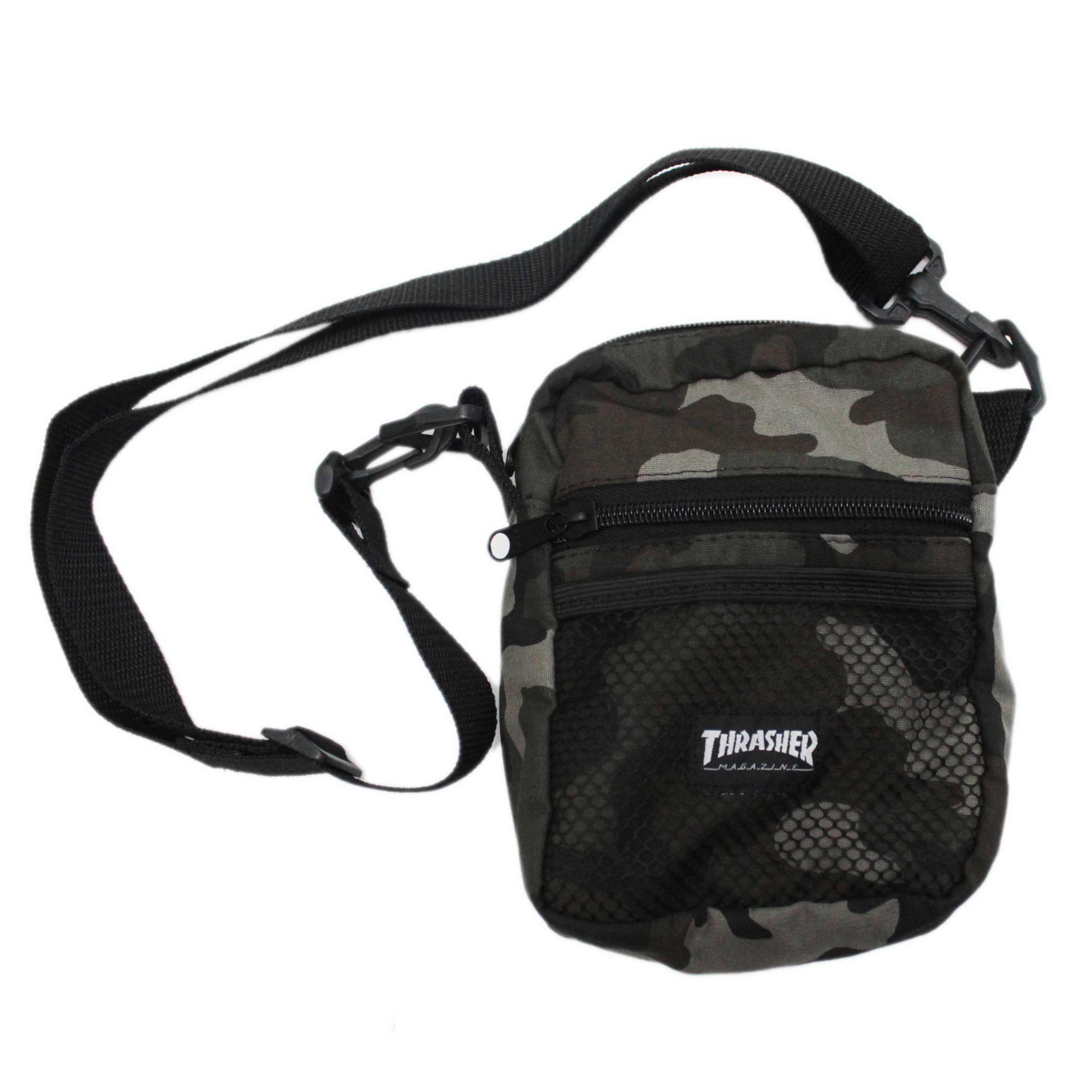 Shoulder Bag Thrasher Magazine Skate Mag Camuflado