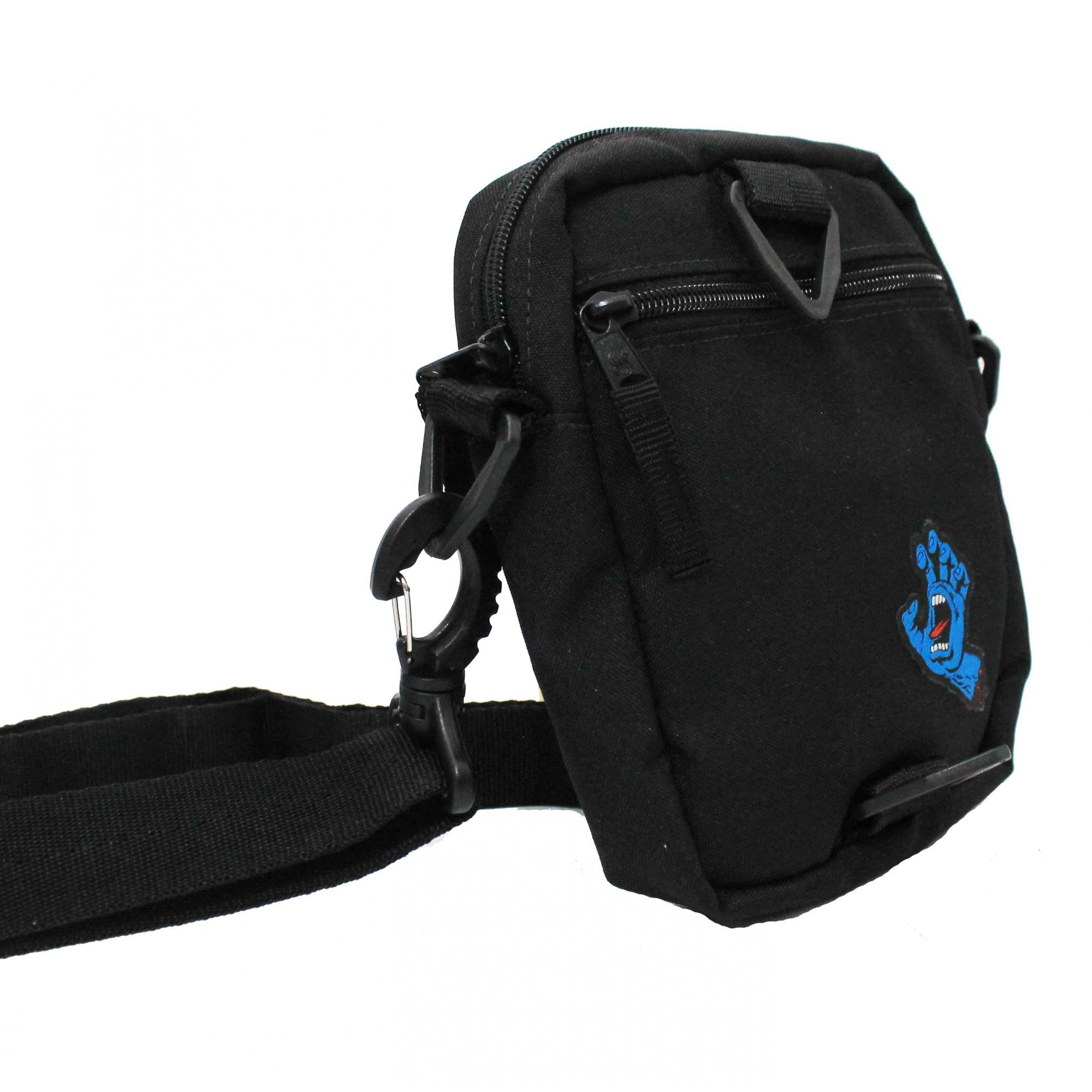 Shoulderbag Santa Cruz Screaming Hand Black