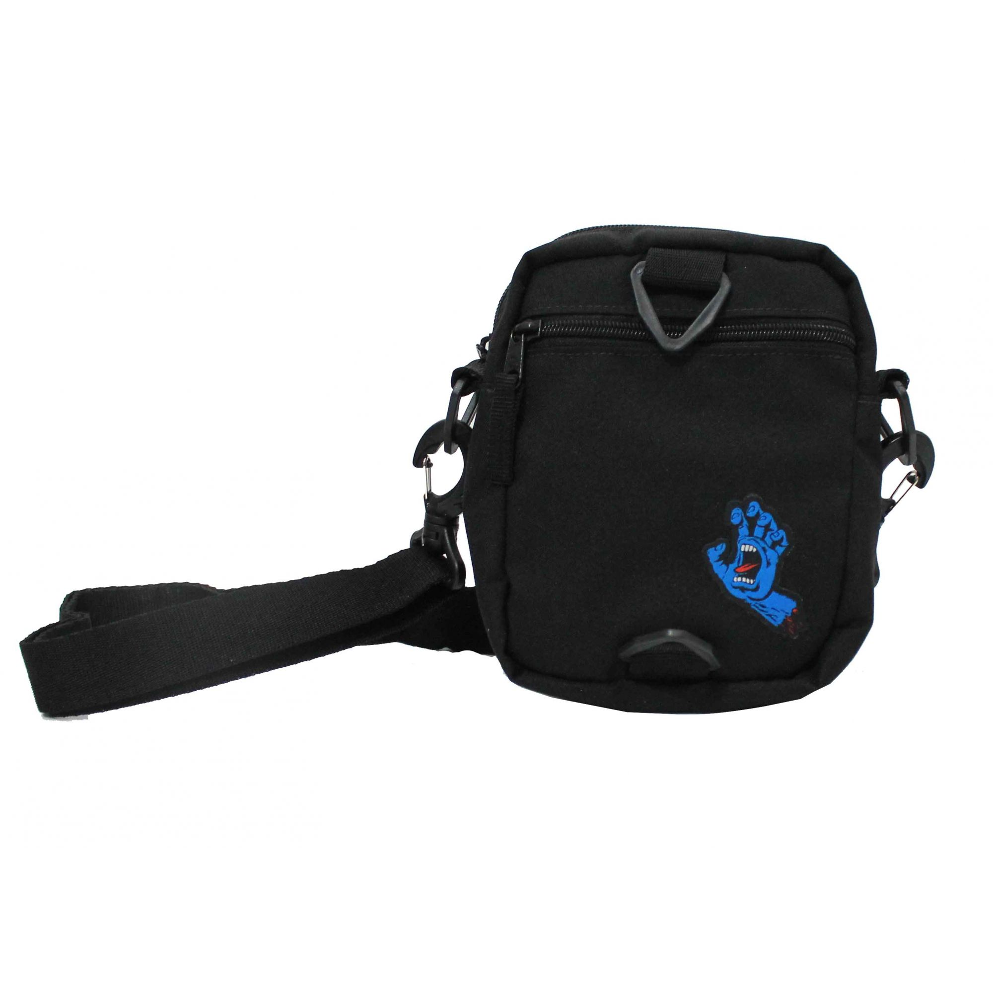 Shoulderbag Santa Cruz Screaming Hand Preto