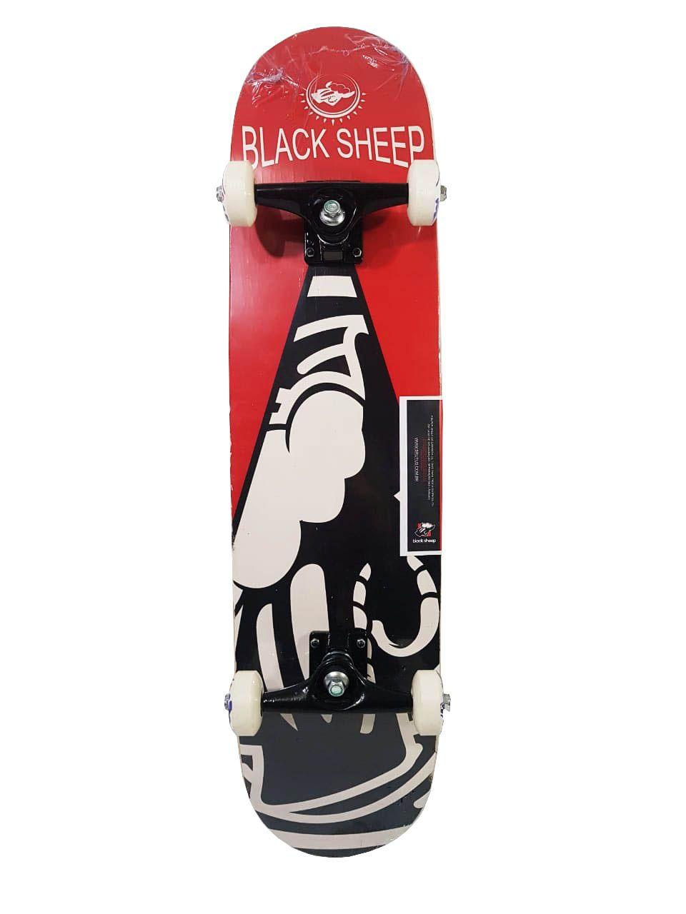 Skate Completo Black Sheep Iniciante Modelo 3