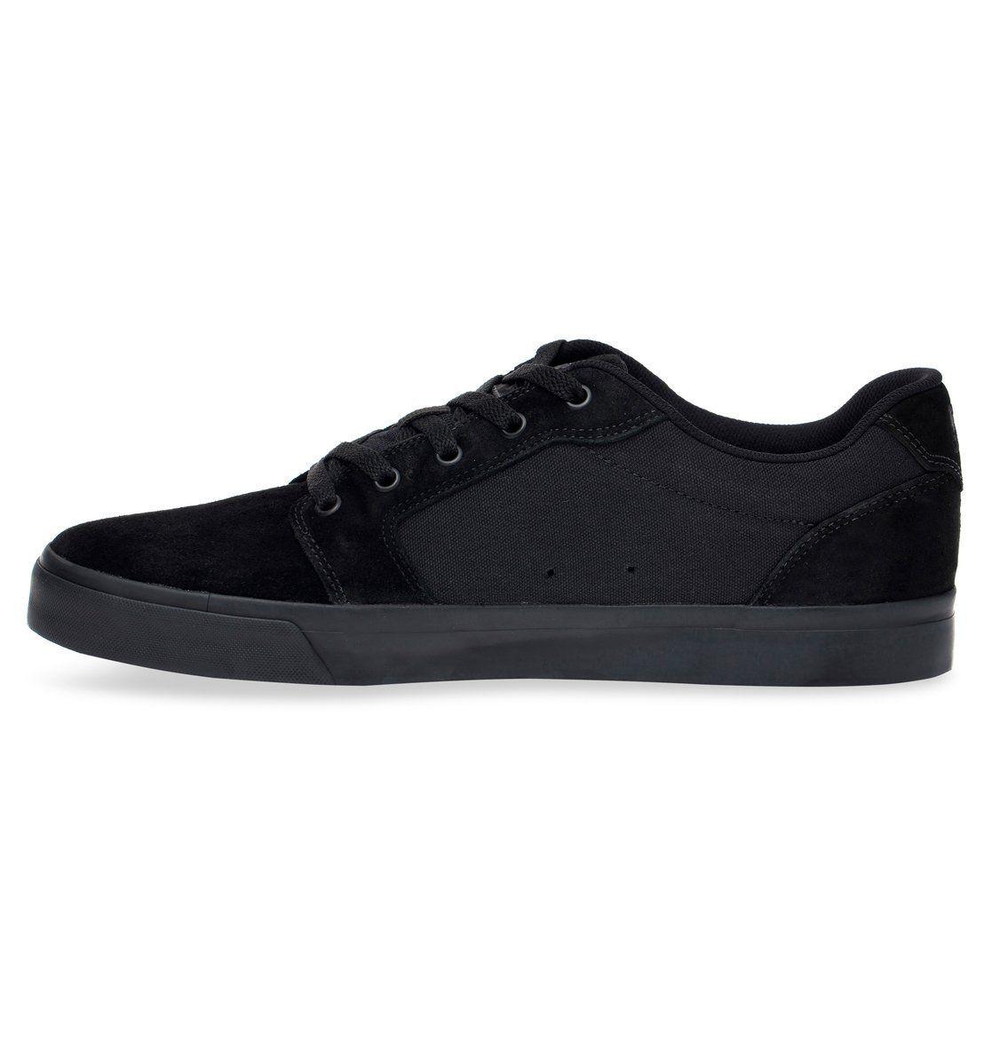 Tênis DC Shoes  Anvil LA Black/Black/Black