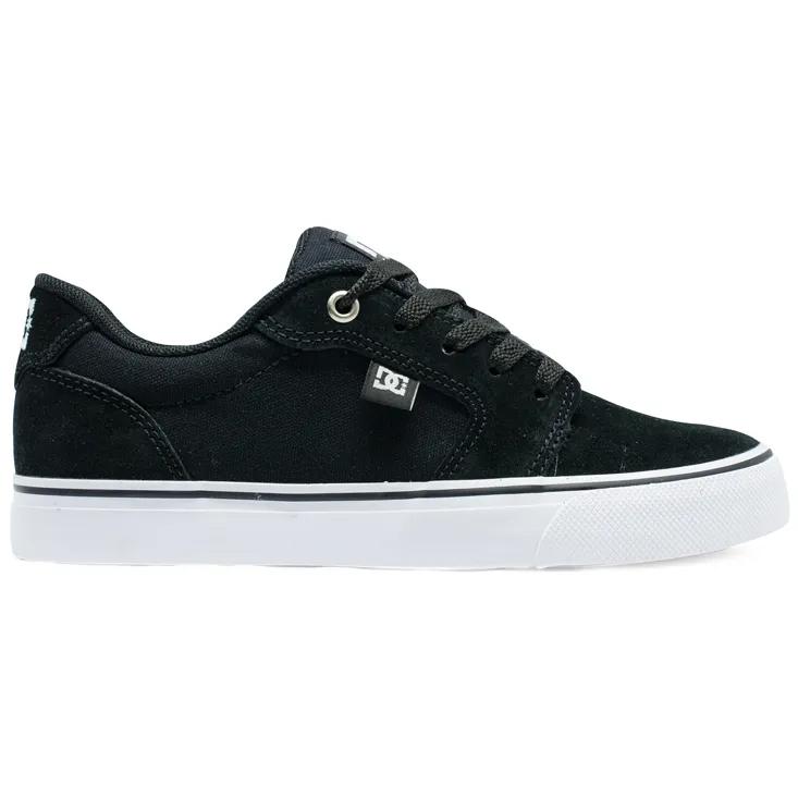 Tênis DC Shoes Anvil LA - Preto/Branco (ADYS300200R)
