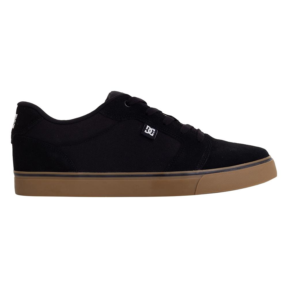 Tênis DC Shoes Anvil LA - Preto/Natural (DC001A)