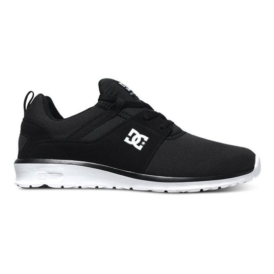Tênis DC Shoes Heathrow - Preto/Branco (Importado)(ADYS700071)