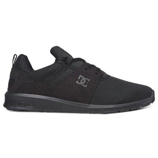 Tênis DC Shoes Heathrow - Preto/Preto/Preto (Importado)(ADYS700071)