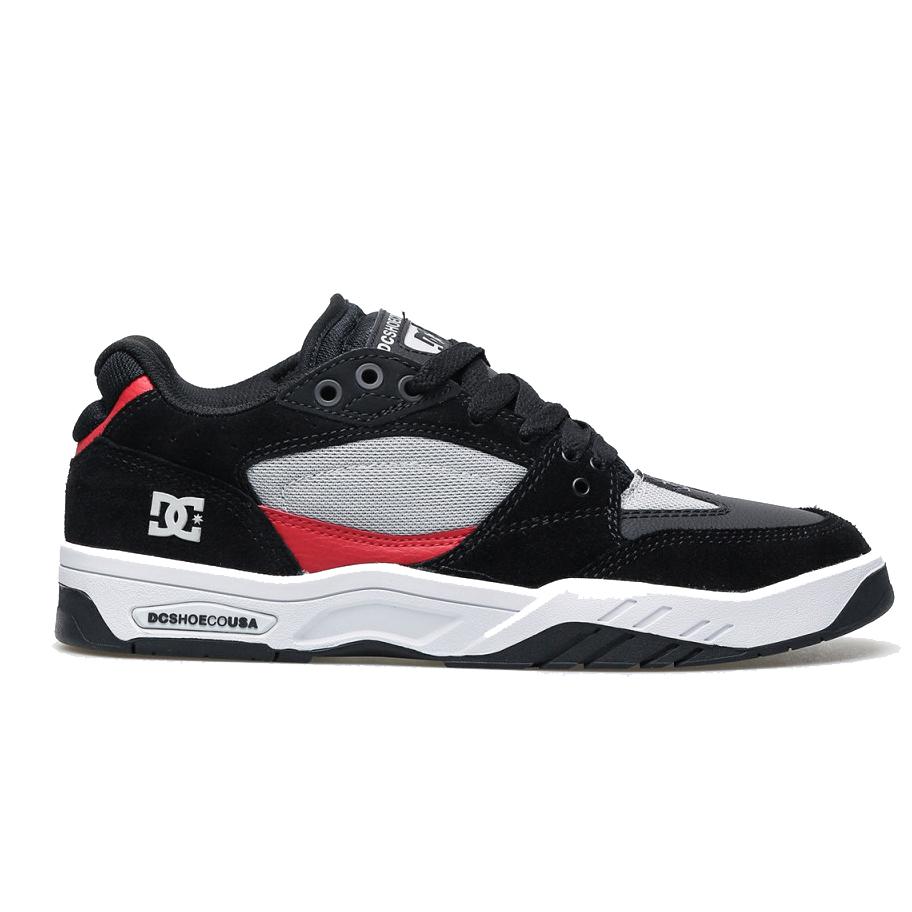 Tênis DC Shoes Maswell - Cinza/Preto/Vermelho (Importado/ADYS100473)