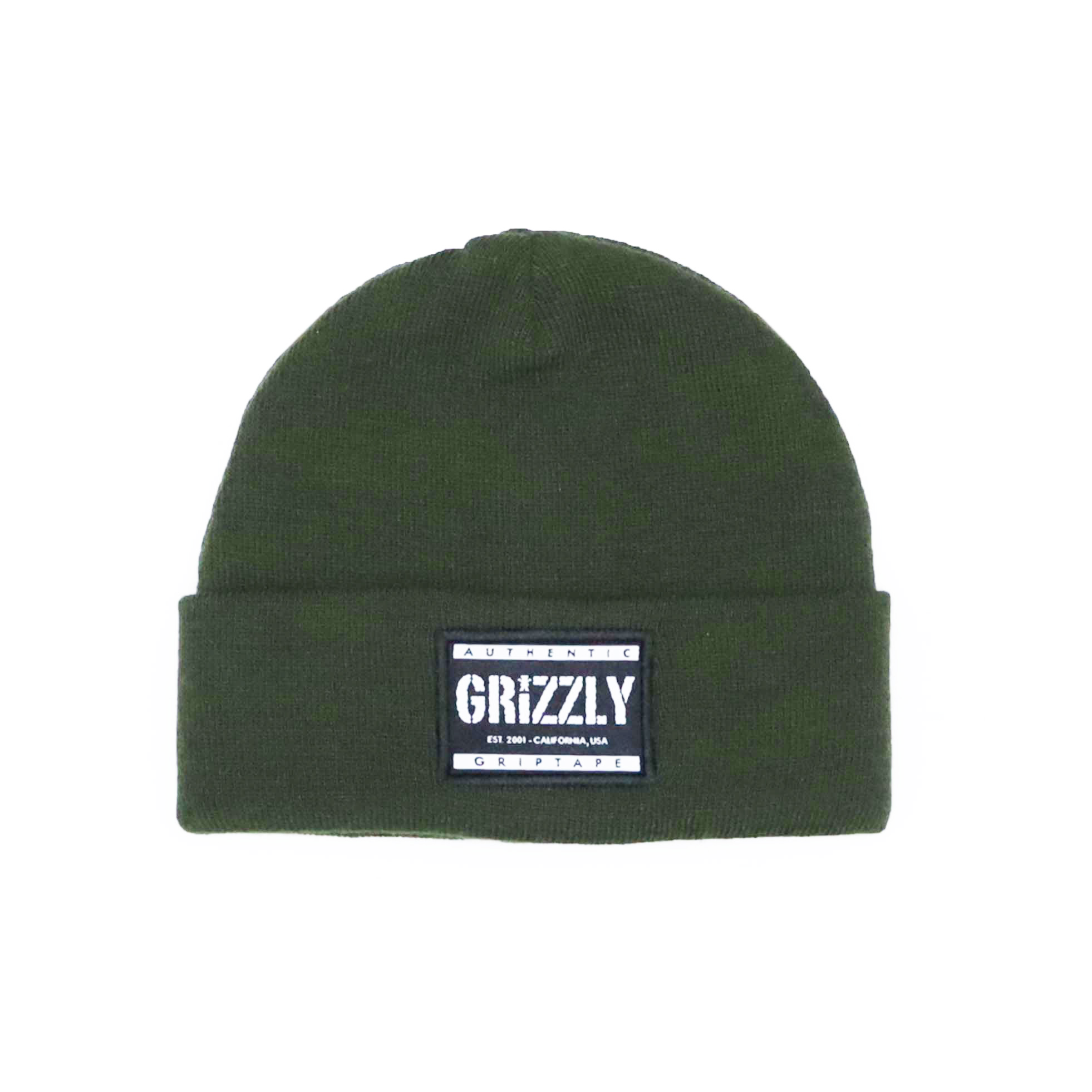 Touca Grizzly Labeled - Verde Militar