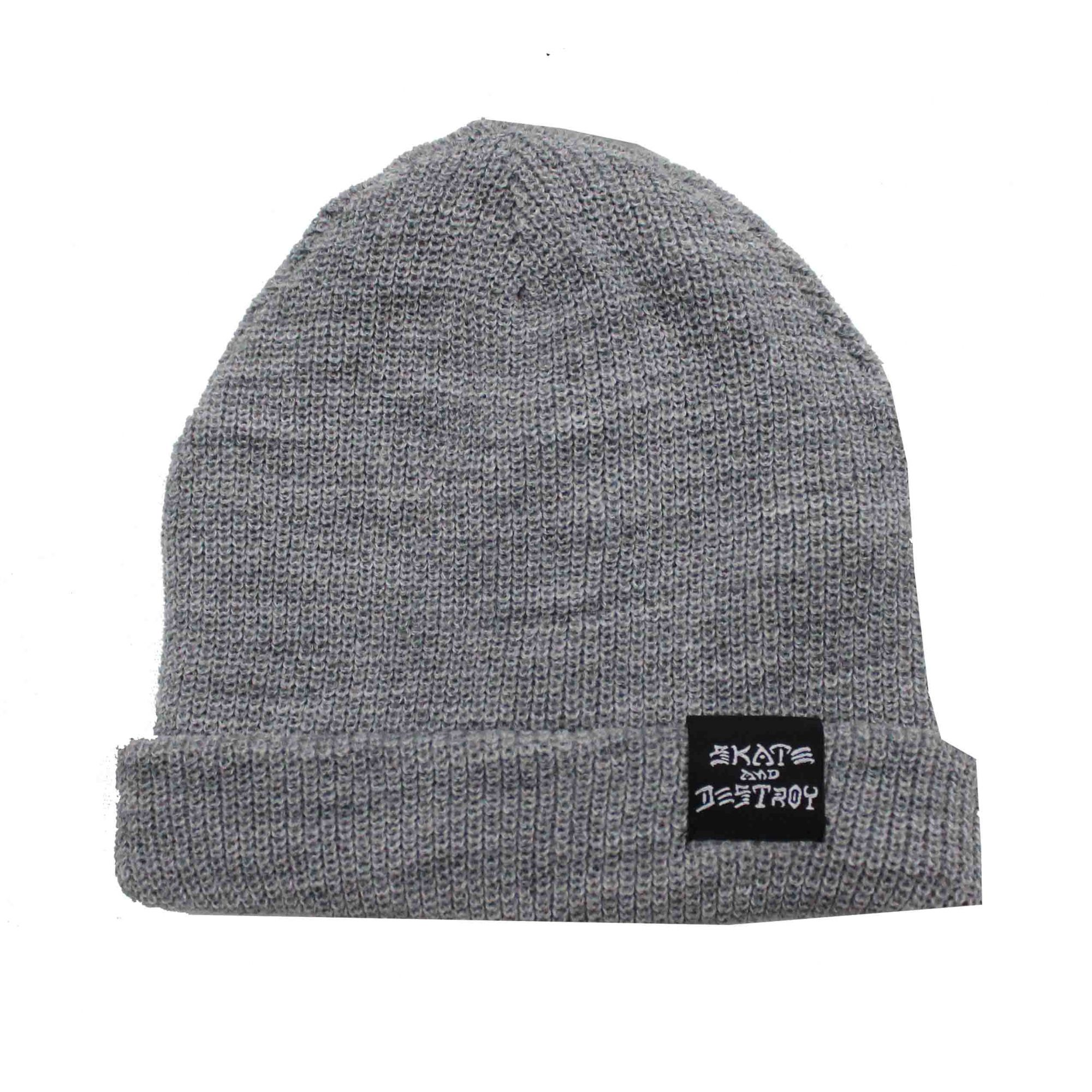 Touca Thrasher Magazine Skate and Destroy/Goat Beanie Grey