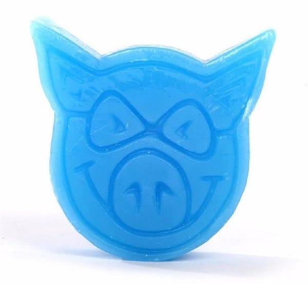 Vela Parafina Pig Skateboards - Azul Neon (Importado)