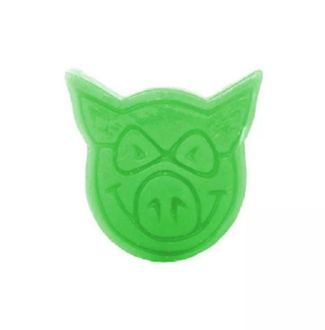 Vela Parafina Pig Skateboards - Verde Neon (Importado)