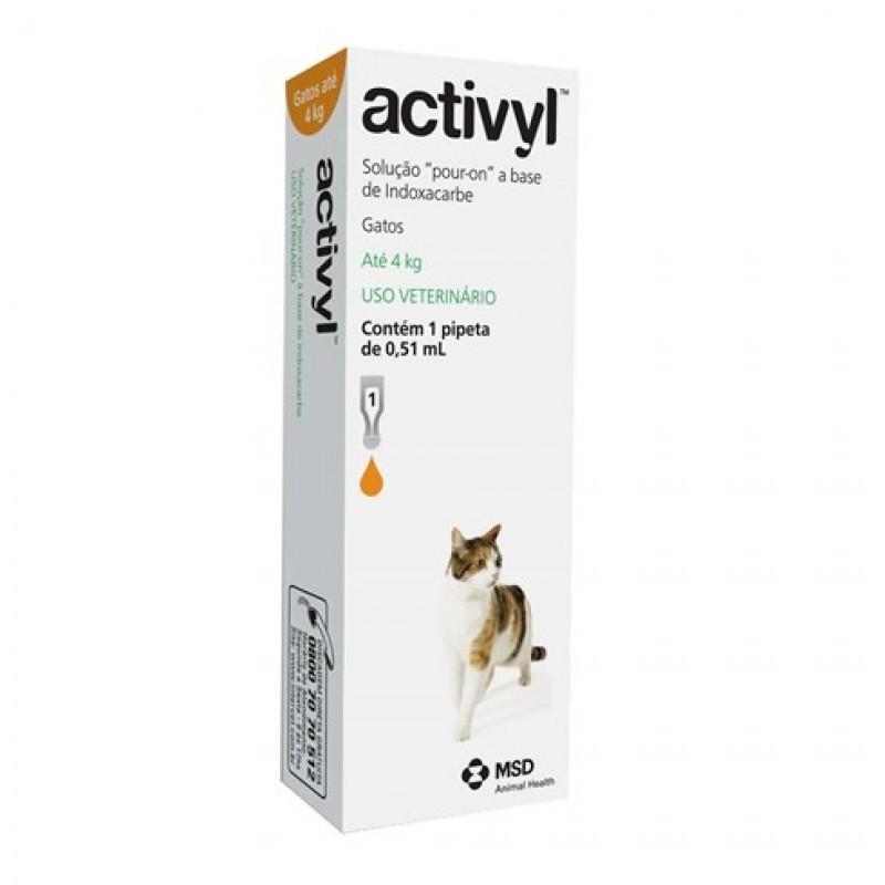 Activyl Gatos 0,51ml (até 4kg)
