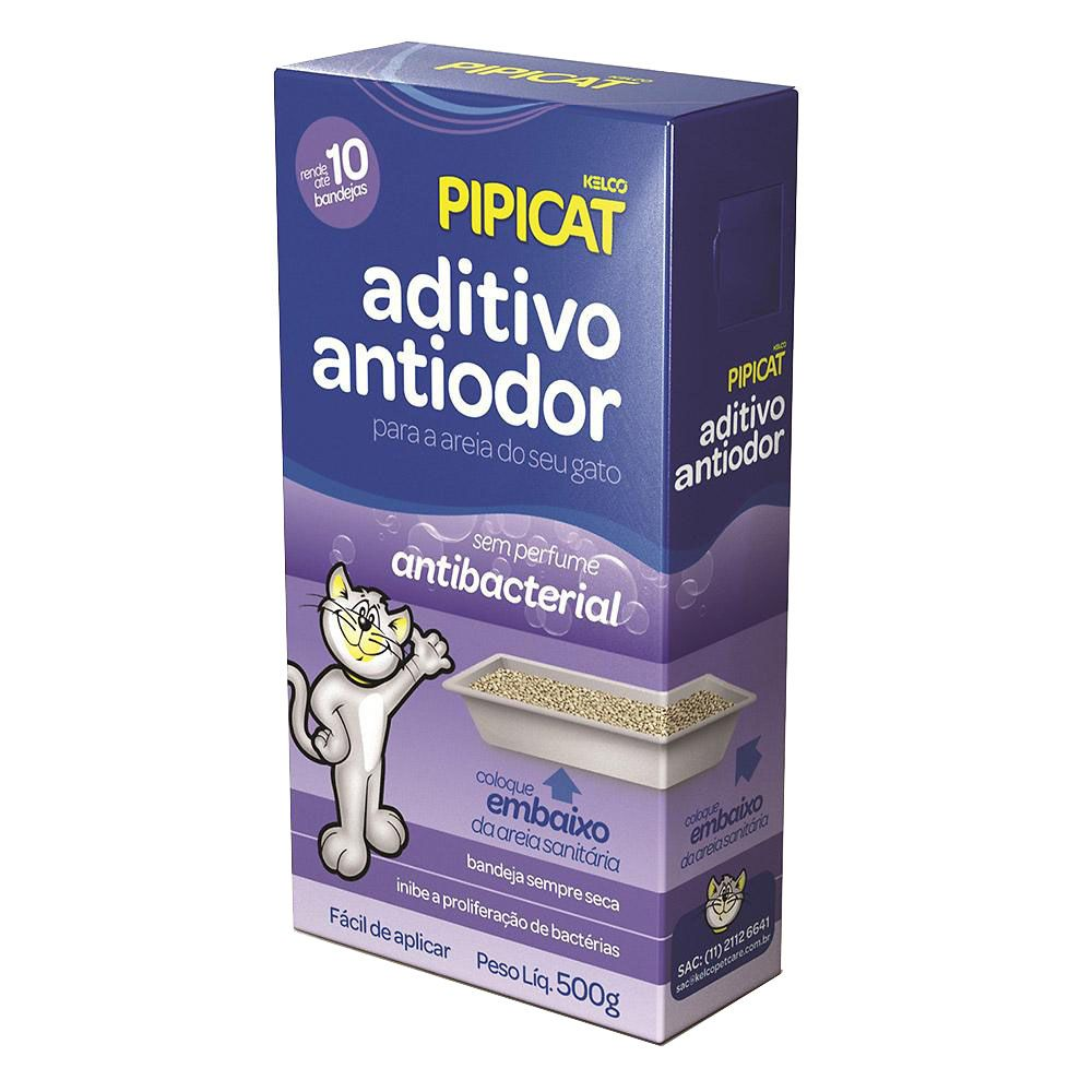 Aditivo Antiodor Antibacterial Pipicat - 500g