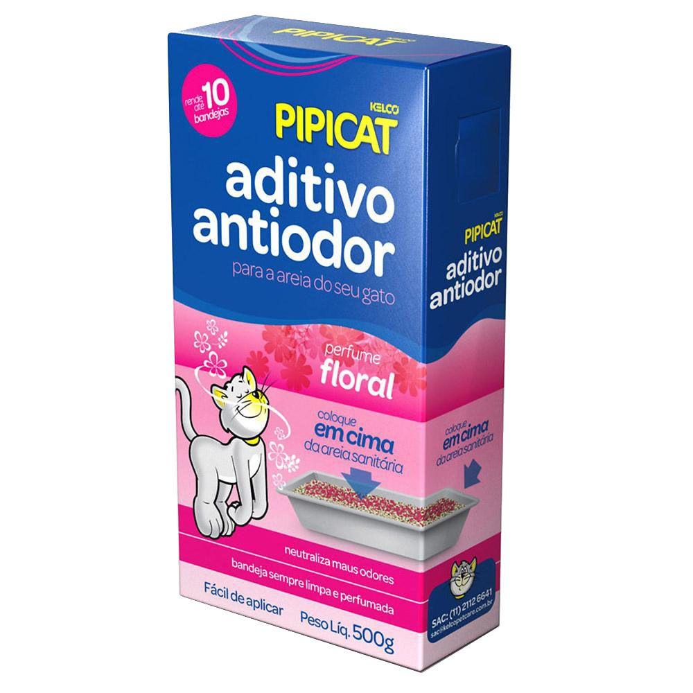 Aditivo Antiodor Floral Pipicat - 500g