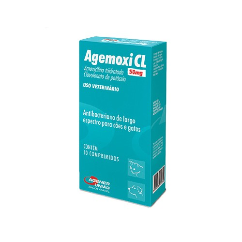 Agemoxi CL (10 comprimidos)