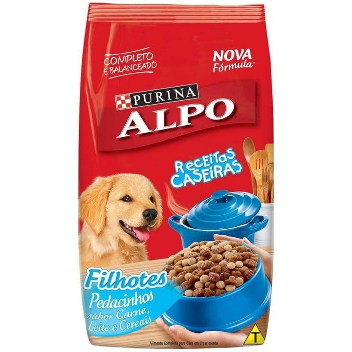 Alpo Cães Filhotes Receitas Caseiras Carne, Leite e Cereais