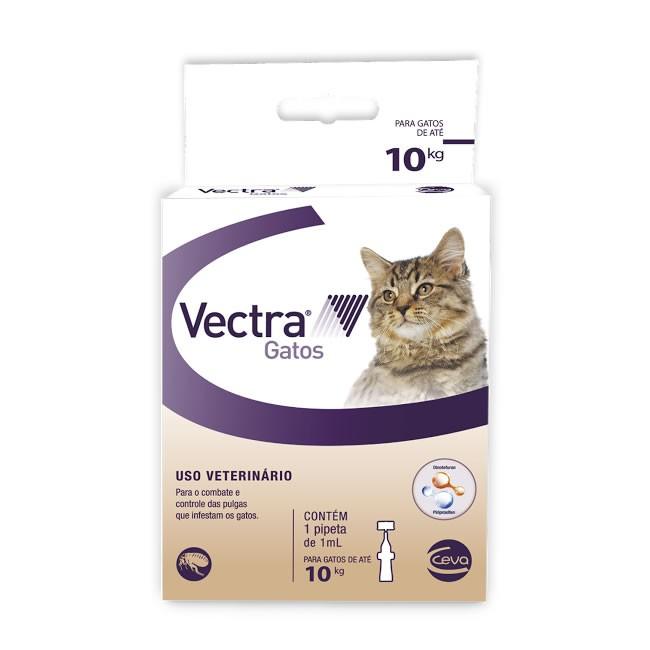 Vectra Gatos 1mL (até 10kg)