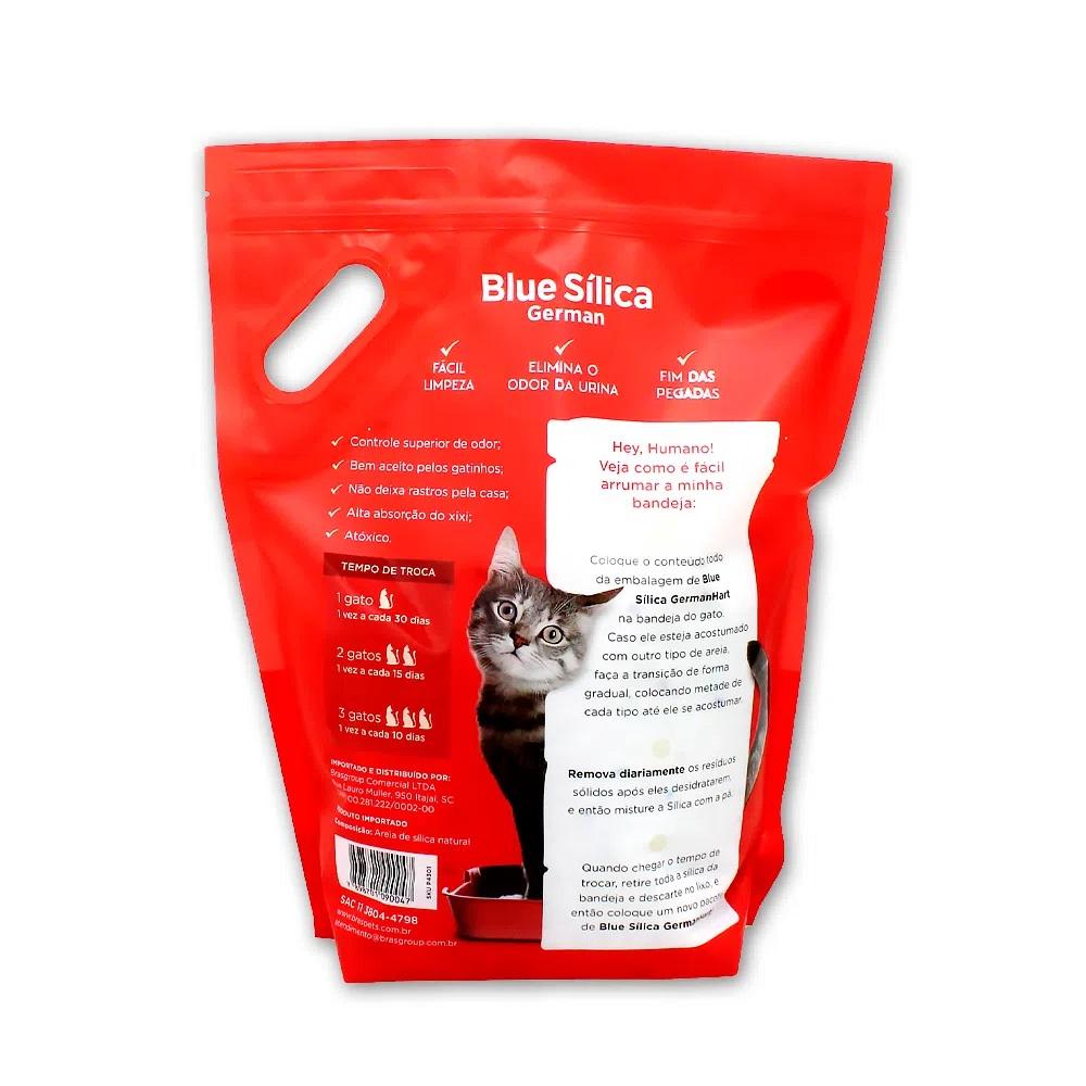 Areia Blue Silica Normal para Gatos 1,8k