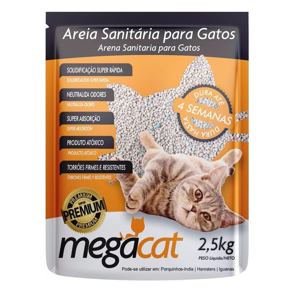 Areia Sanitária Megacat