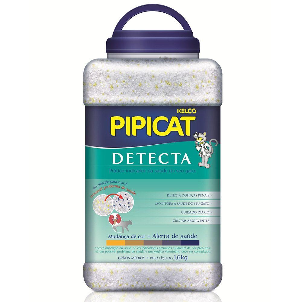 Areia Sanitária Pipicat Detecta