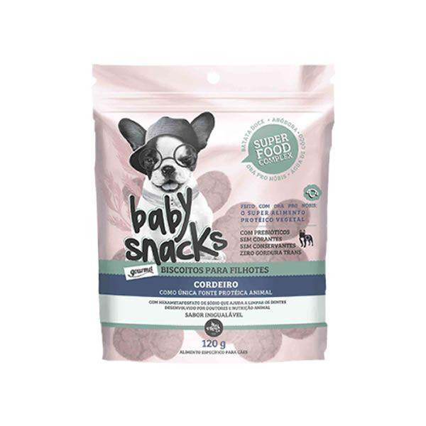 Baby Snacks Cordeiro - 120g