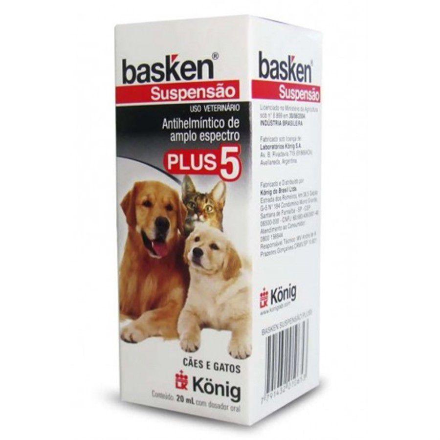 Basken Suspensão Plus 20ml - König
