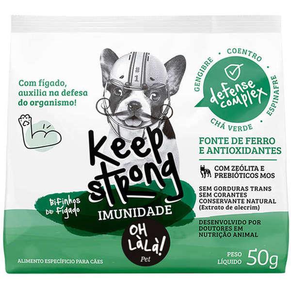 Bifinhos de Fígado Pet Keep Strong Imunidade 50g