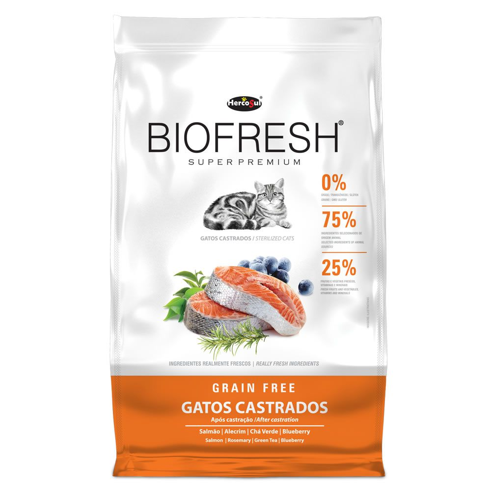Biofresh Grain Free Gatos Castrados Adulto