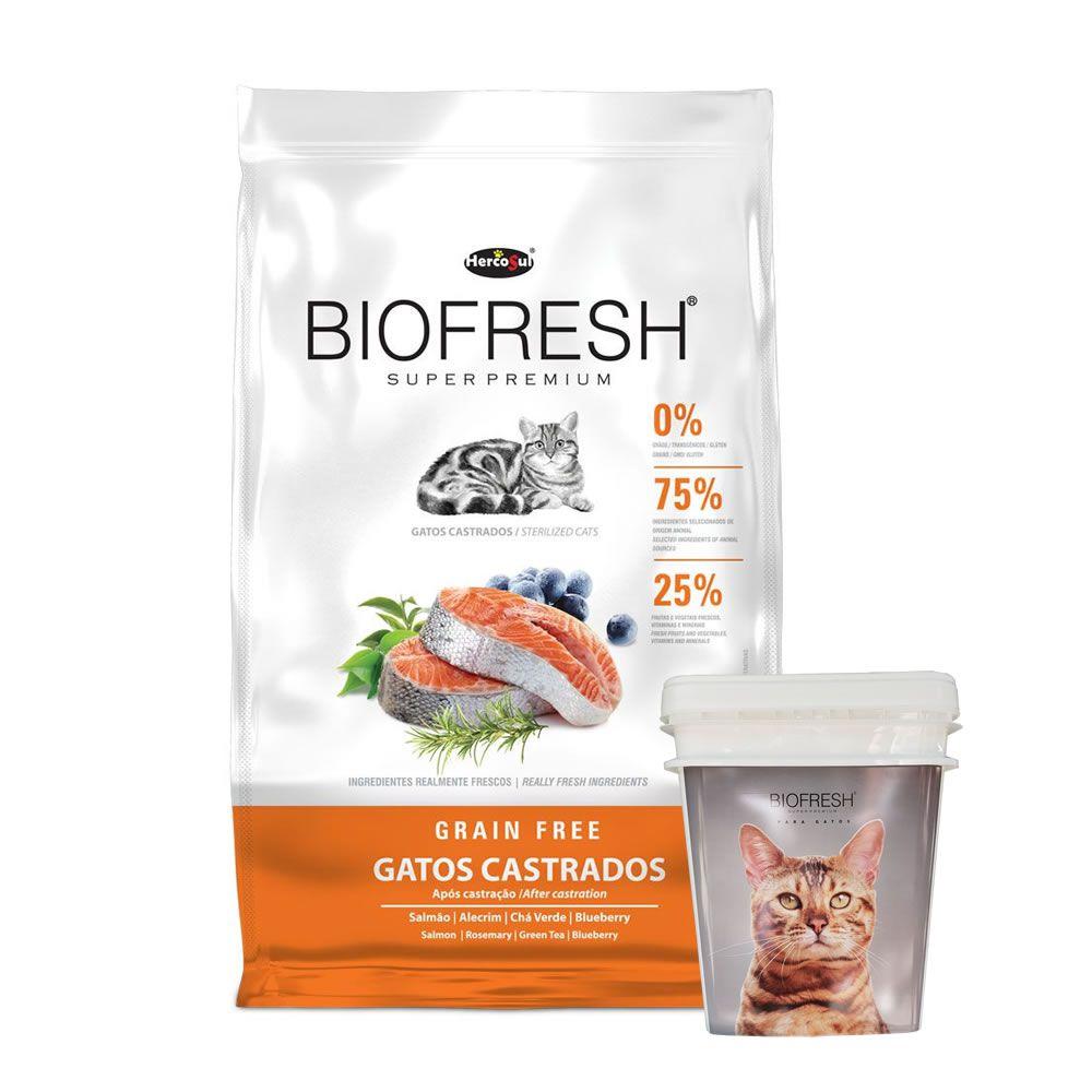 Biofresh Grain Free Gatos Castrados Adulto