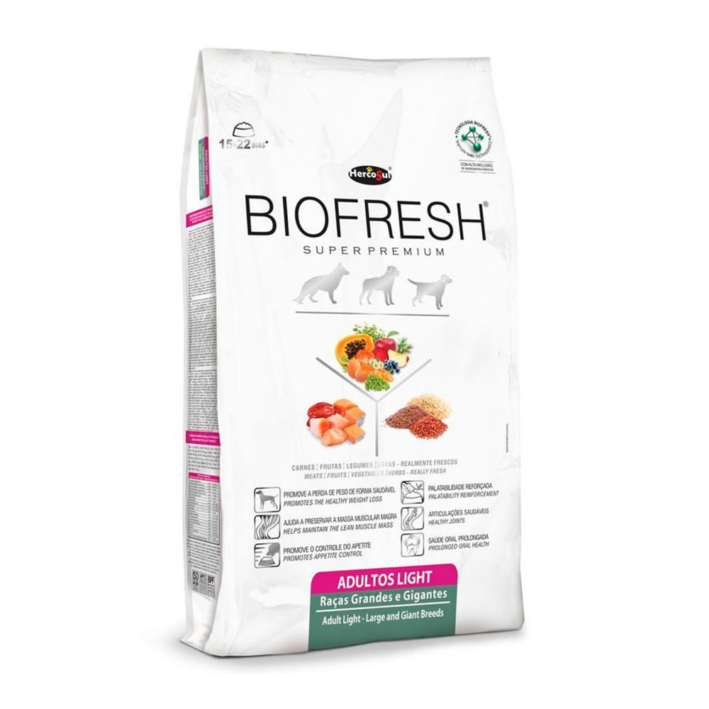 Biofresh Raças Grandes e Gigantes Light Adulto