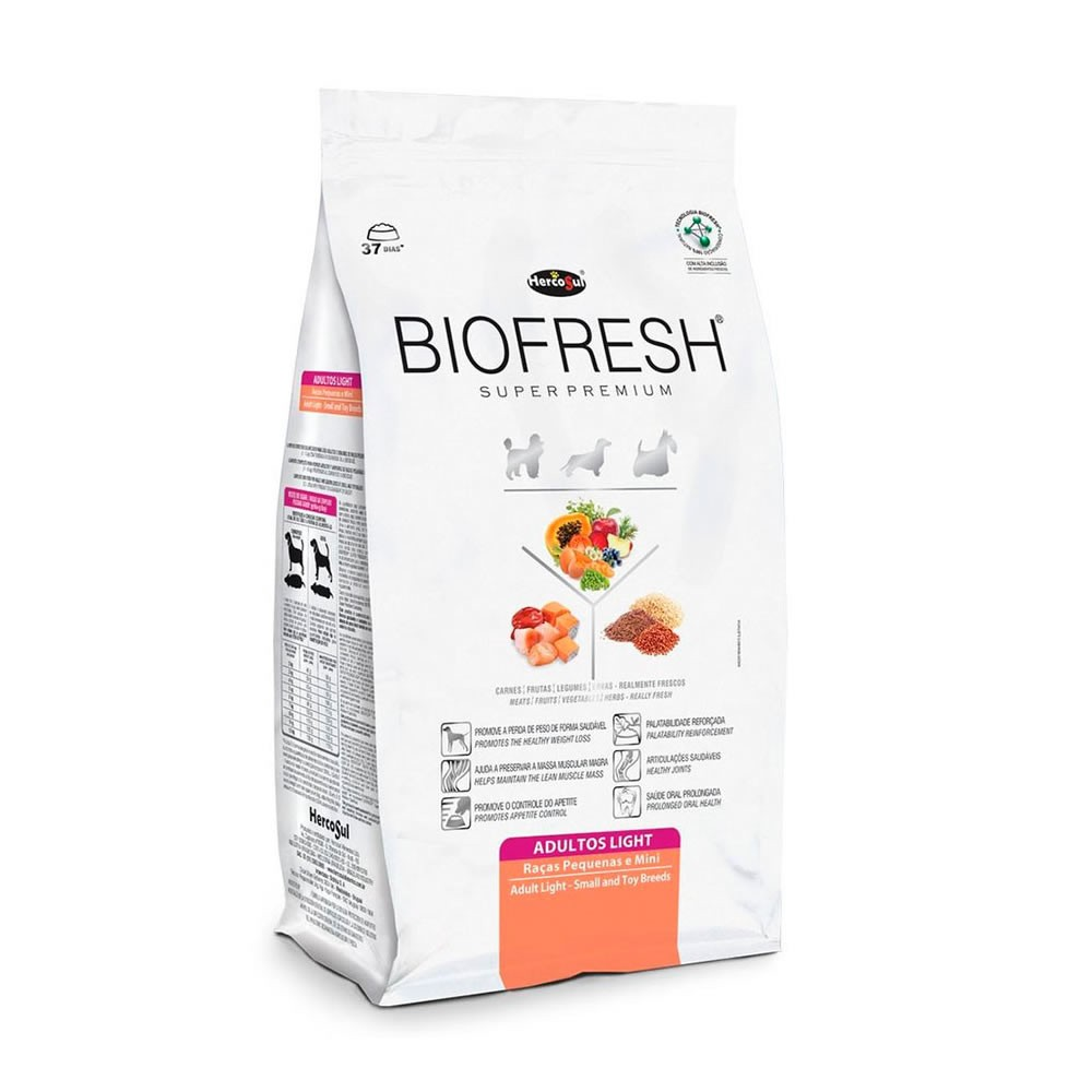 Biofresh Raças Pequenas e Mini Adulto Light