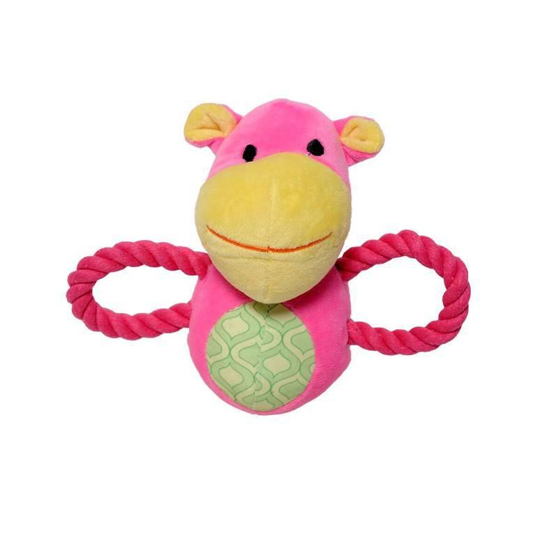 Brinquedo Baby Vaquinha Pelúcia e Corda - Petwi