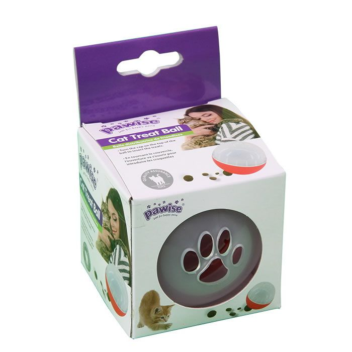 Brinquedo Cat Treat Ball Porta Petiscos - Pawise