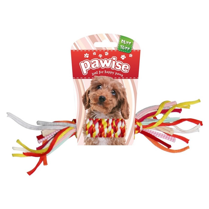 Brinquedo Colorful Braided Rope Bone G - Pawise
