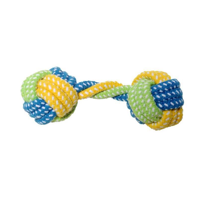Brinquedo Bola Corda Osso Colours - Petwi
