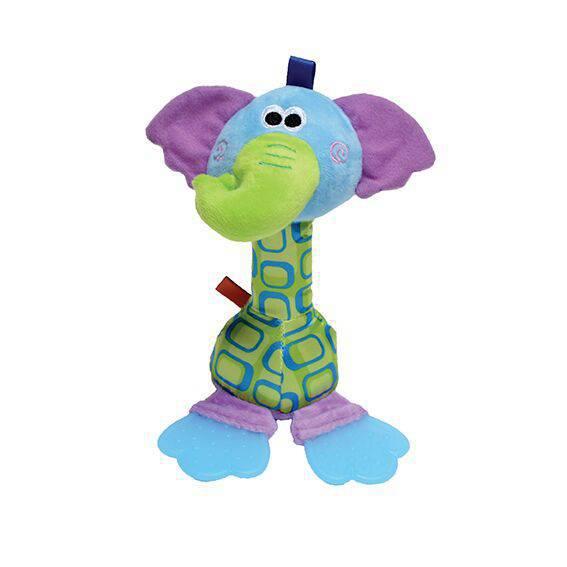 Brinquedo Elefante Pelúcia Crazy - Petwi