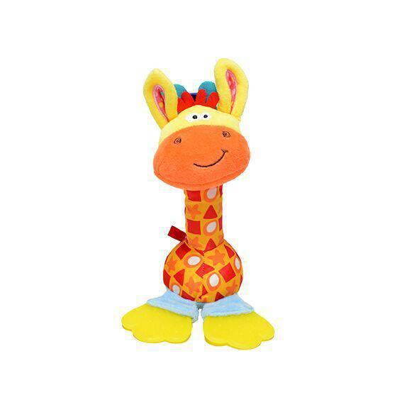Brinquedo Girafa Pelúcia Crazy - Petwi