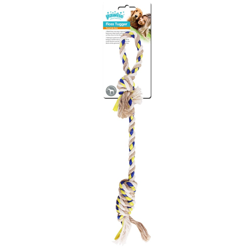 Brinquedo Mordedor Floss Tugger Loop Knots - Pawise
