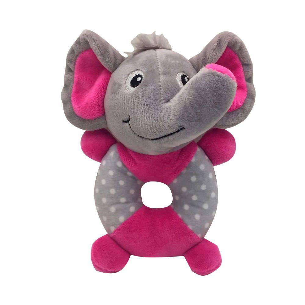 Brinquedo Pelúcia Elefante Corpo Redondo - Akio