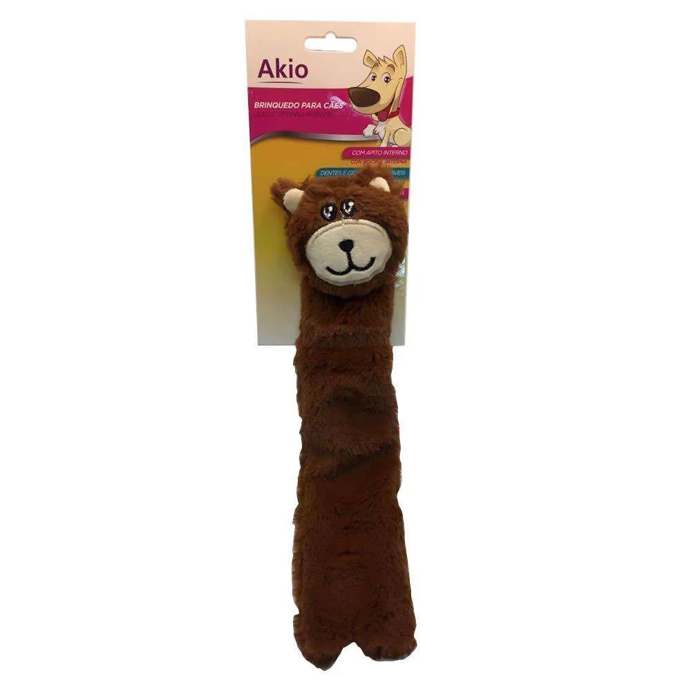 Brinquedo Pelúcia Urso Corpo Longo - Akio
