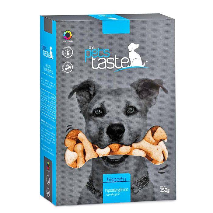 Biscoito The Pets Taste Hipoalergênico