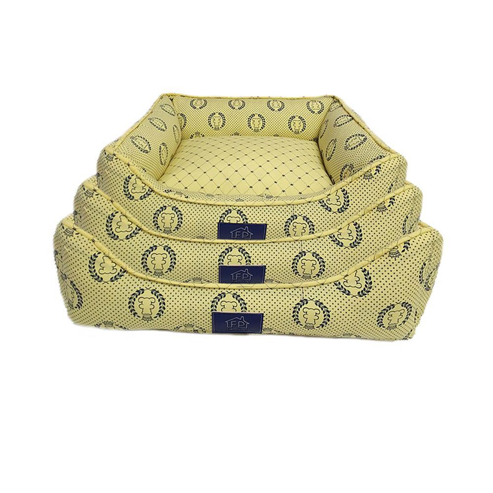 Cama Coroa Amarela - Fabrica Pet