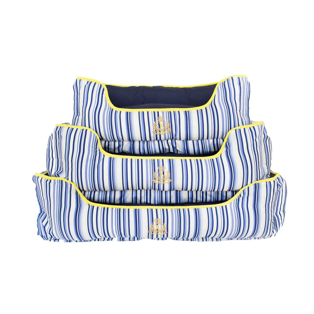 Cama Flip Dog Lyon Blue Stripes