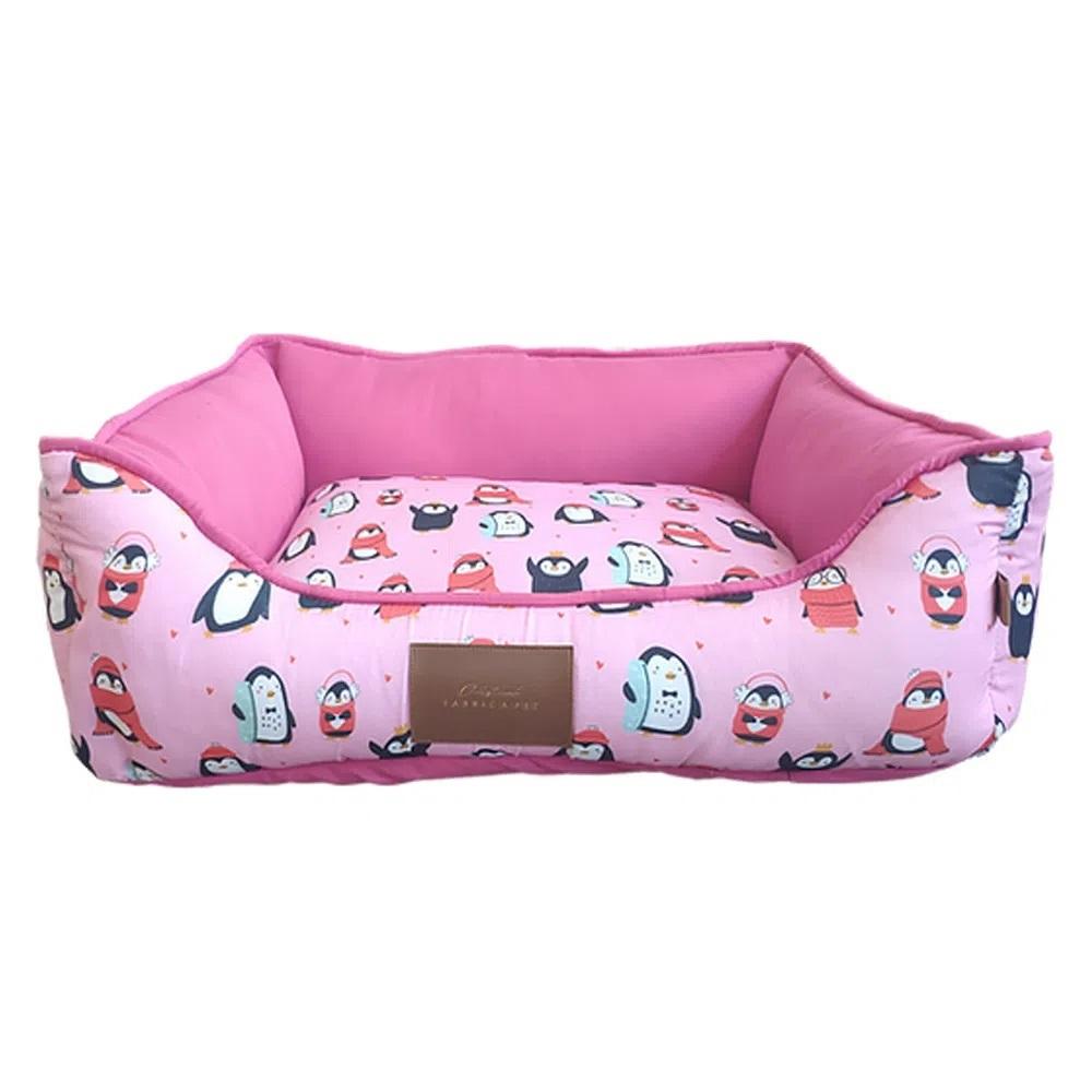 Cama Pinguim Rosa - Fábrica Pet