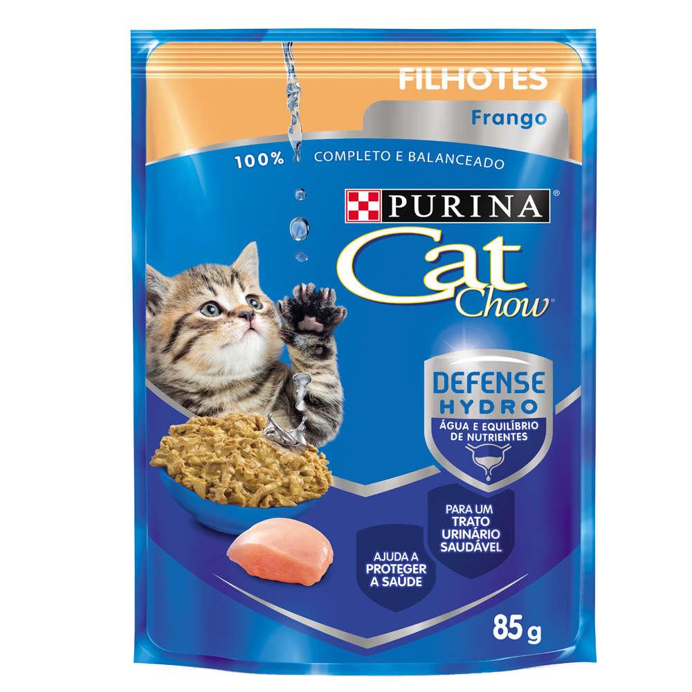 Cat Chow Sachê Filhotes Frango