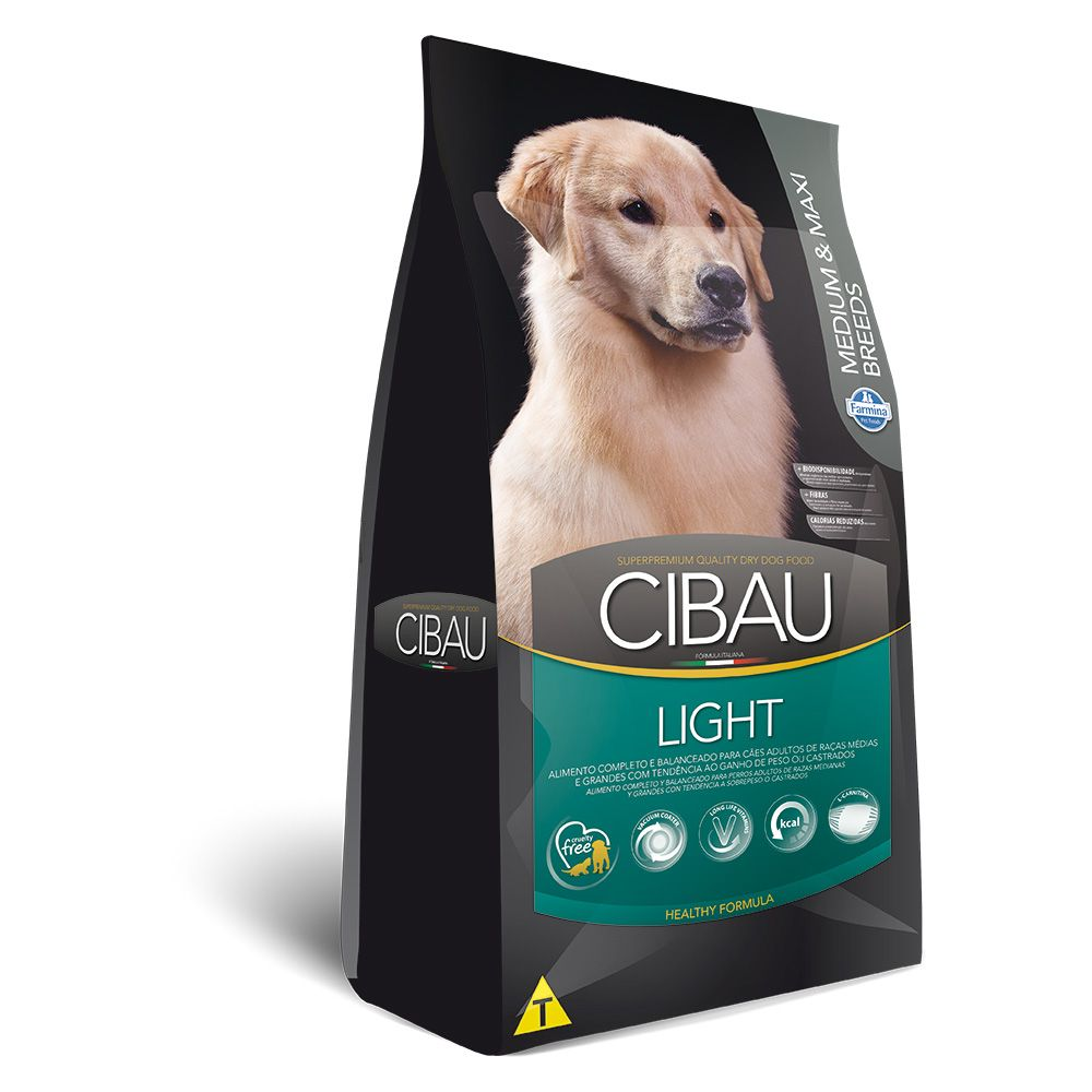 Cibau Medium e Maxi Adult Light