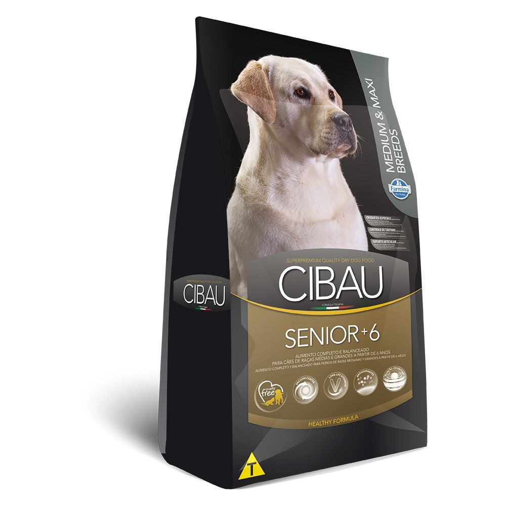 Cibau Medium e Maxi Senior 6+