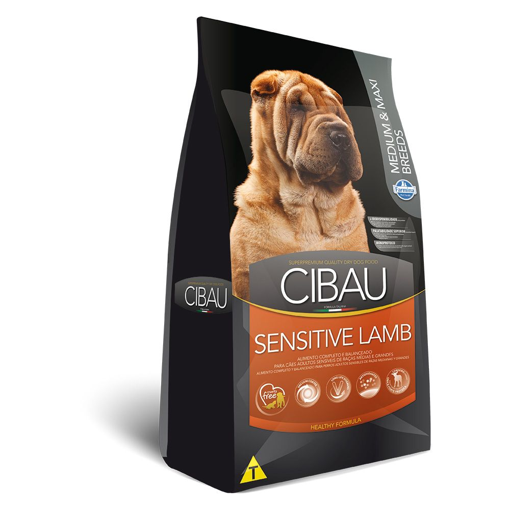 Cibau Medium e Maxi Sensitive Lamb Adult