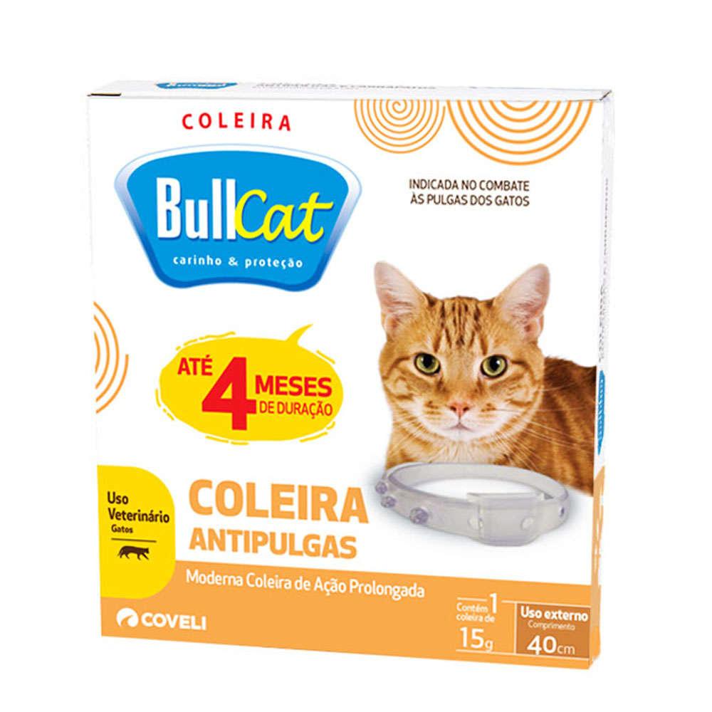 Coleira BullCat Antipulgas - 40cm