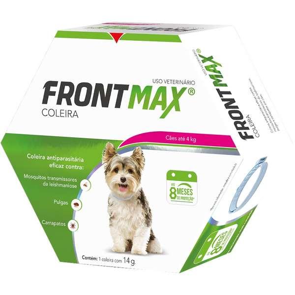 Coleira Frontmax para Cães até 4 Kg - Vetoquinol