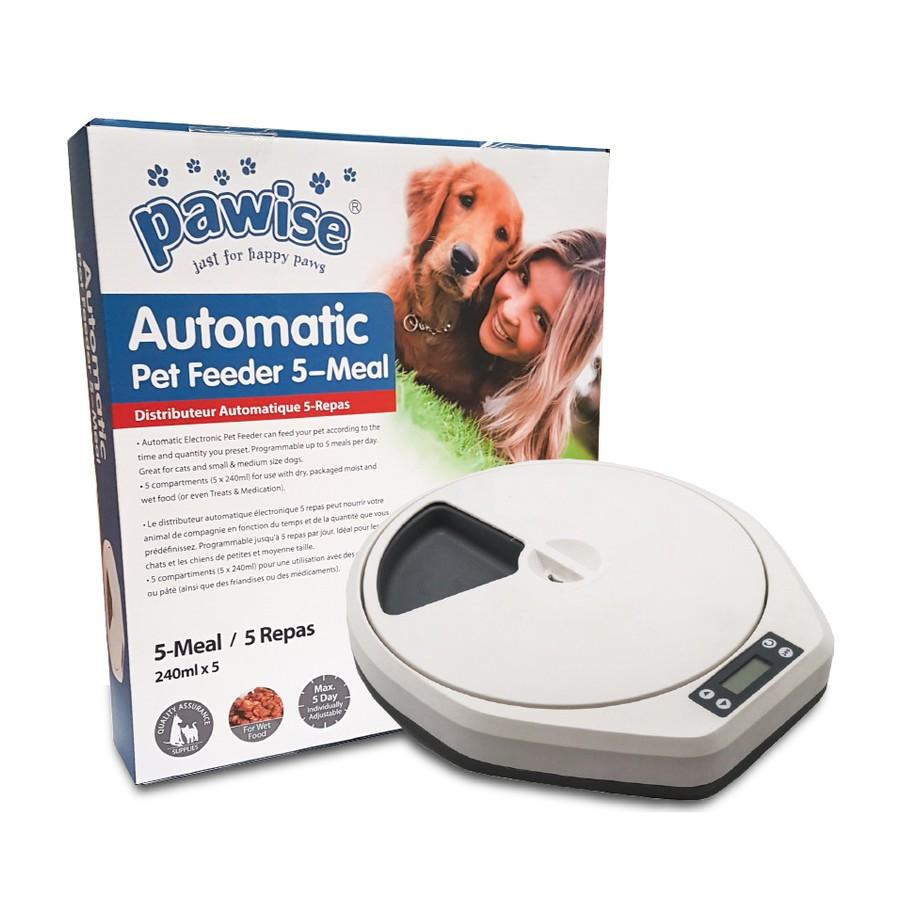 Comedouro Automático Pet Feeder 5 Refeições - Pawise